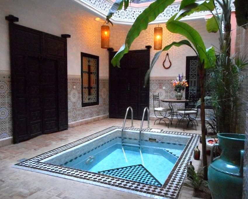 CHAMBRE DOUBLE AVEC SALLE DE BAIN - Marrakech - Pensione