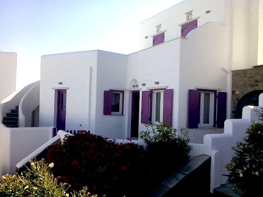 Fuchsia Sea View Villa - Άγιος Σώστης - Casa