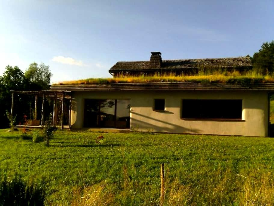maison écolo - Hautefage