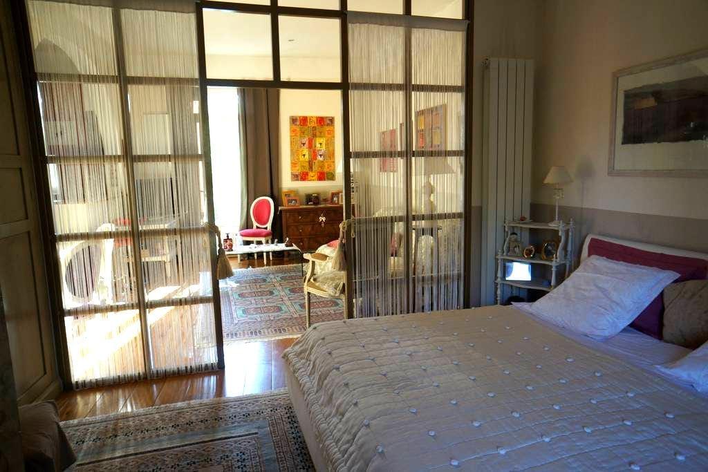 Très beau Studio/2 pièces 45 m2 avec accès piscine - Saussan - House