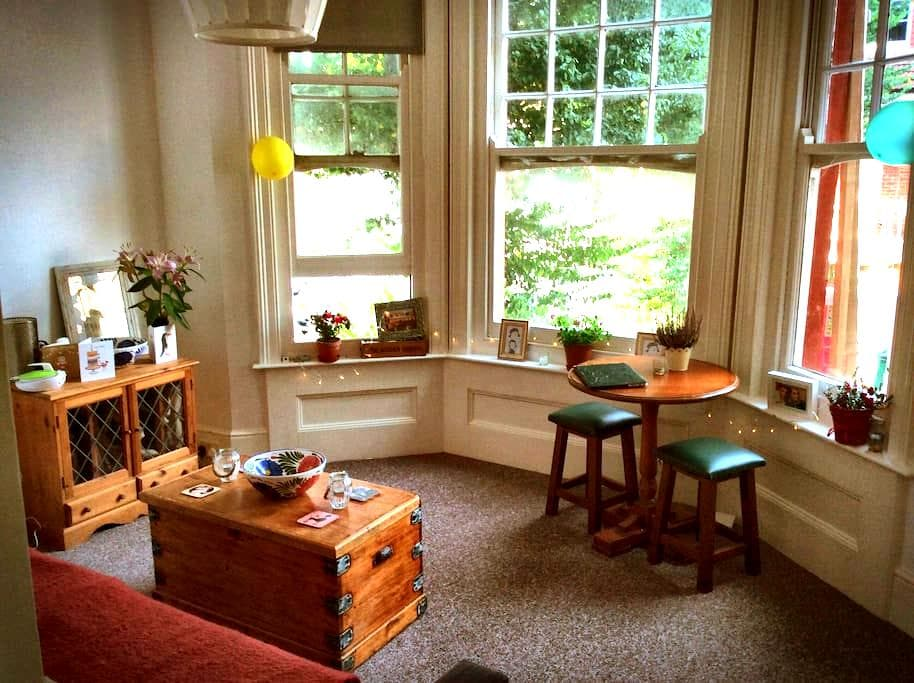 Spacious double bedroom near Brighton Station - Hove - Appartement