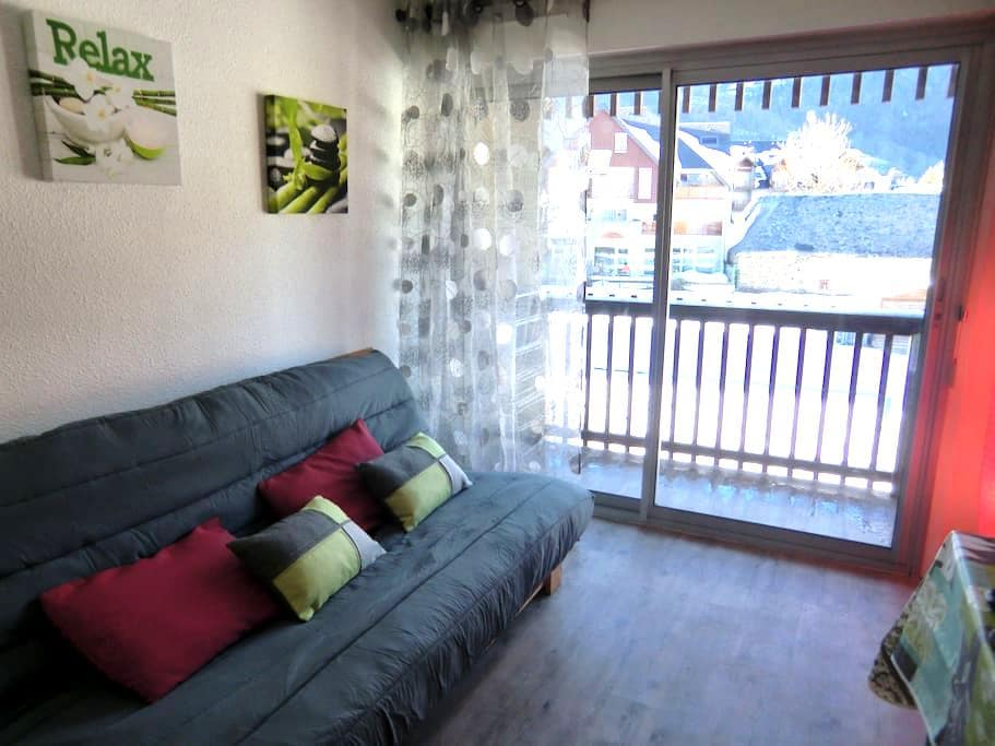 Studio 30m²plein coeur du village - Saint-Lary-Soulan - Apartment