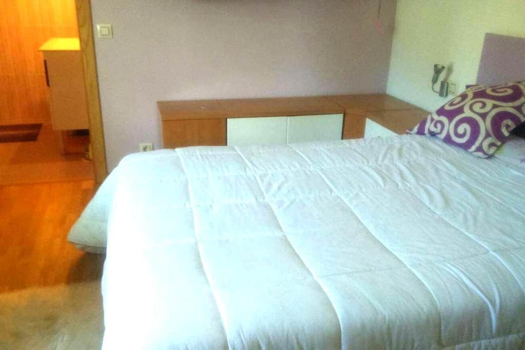 Habitación con cama doble en Pontevedra - Pontevedra - Hus