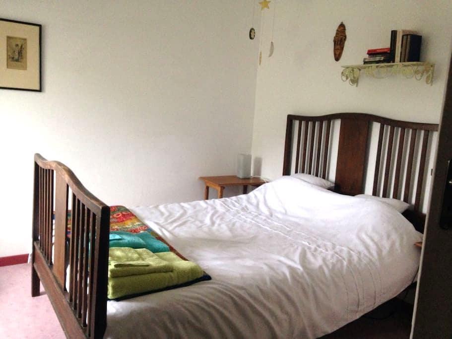 Chambre confortable près Rouen - Longuerue - Huis