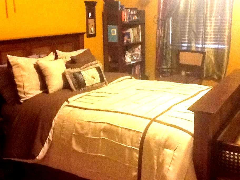 Elegant room in quiet home - Orlando - Hus