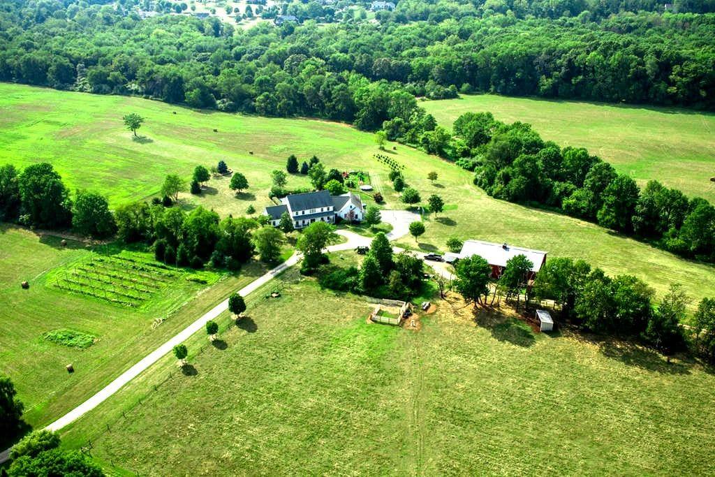 1br Country farm getaway - Close to NYC / Philly - Flemington - Casa