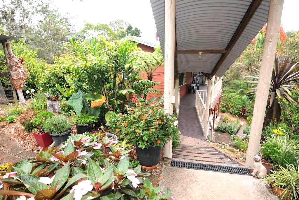 Echidna Creek Cottage - Mapleton - Srub