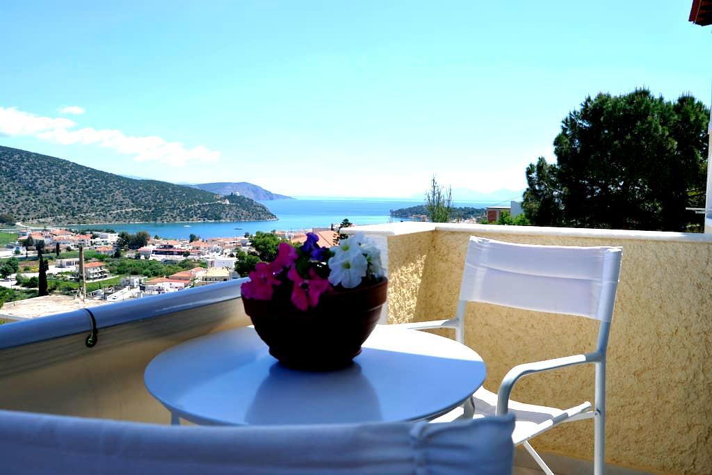 Studio with sea view & balcony: The Sea Urchin - Ermioni - Wohnung