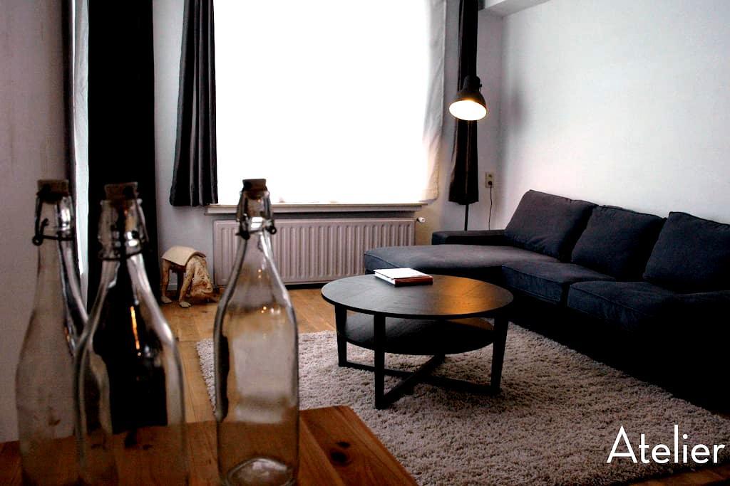 "Apartement ""ATELIER"" near station - Anvers - Daire"