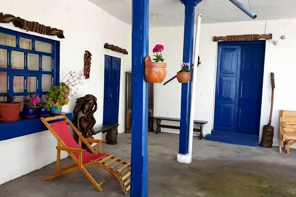 Casa La Delicia Lodging - San Antonio de Ibarra - Huis