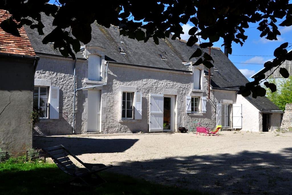 Ferme de charme à côté de Chambord - Séris - House