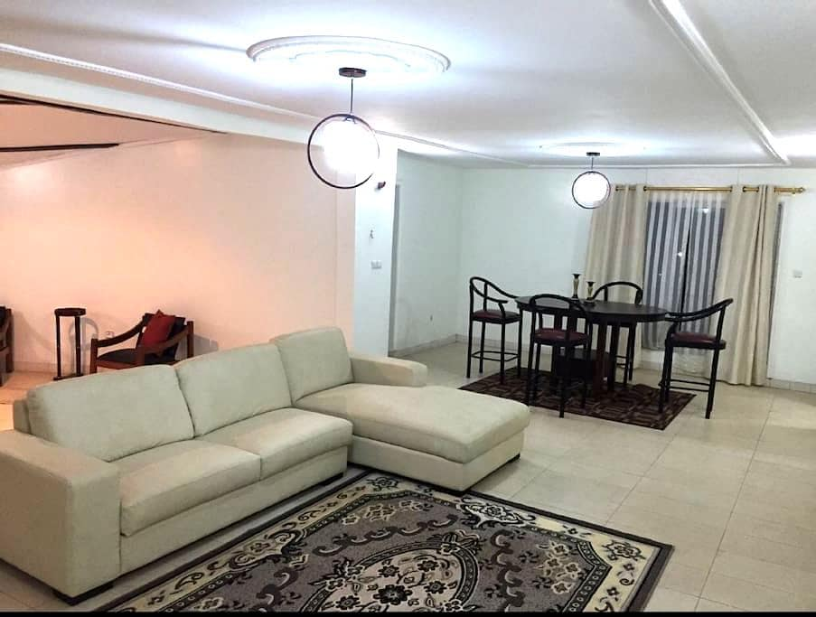 Modern two bedroom apartment - Yaoundé