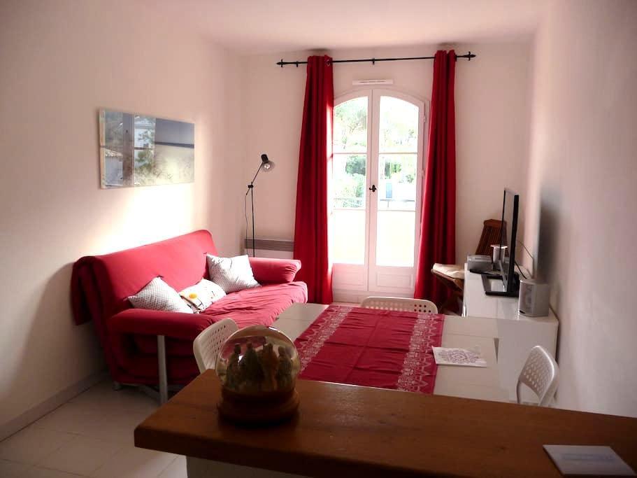Grazioso bilocale, ben situato - Saint-Tropez - Apartemen