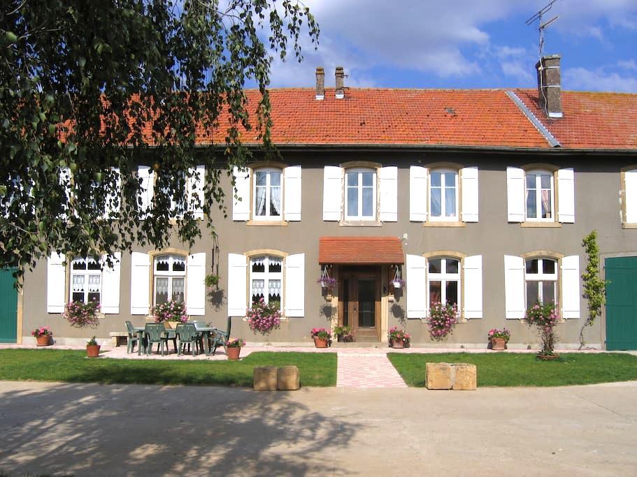 La Jonchière - Suite Familiale - Cheminot - Bed & Breakfast