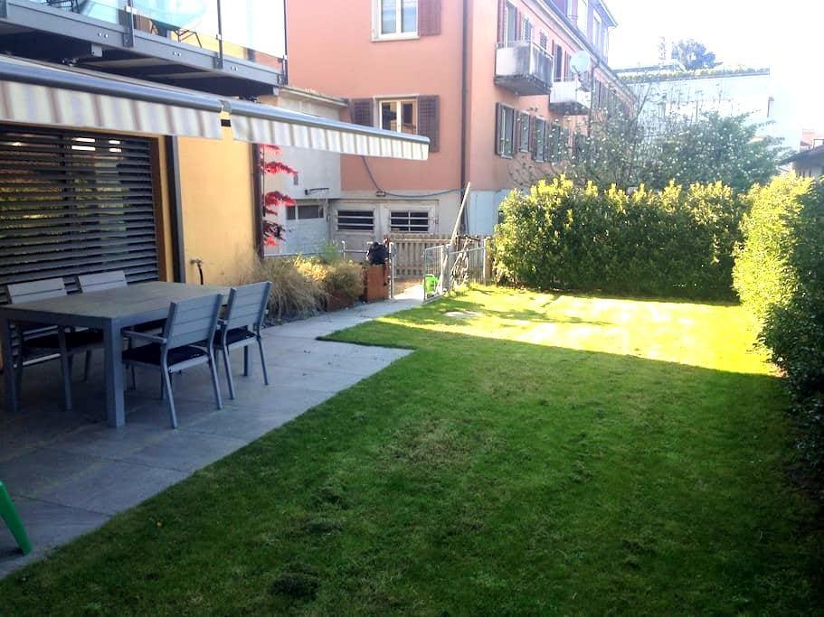 4.5 Bedroom Apart -Garden + Terrace - Zürich - Lägenhet