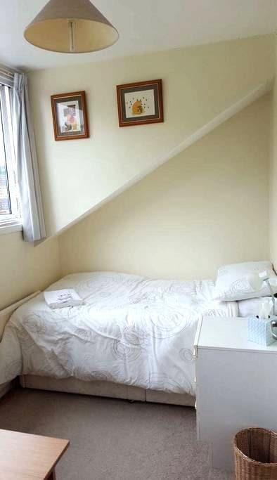 Bright and cosy single room - York - Hus