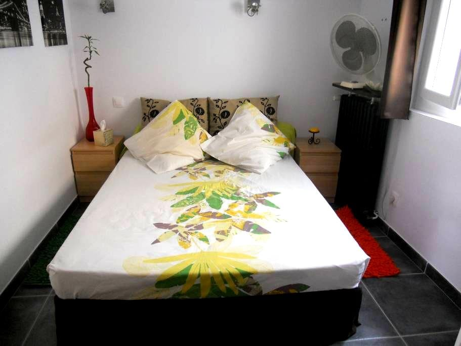 Chambre à 2 pas du centre ville - Perpignan - Řadový dům