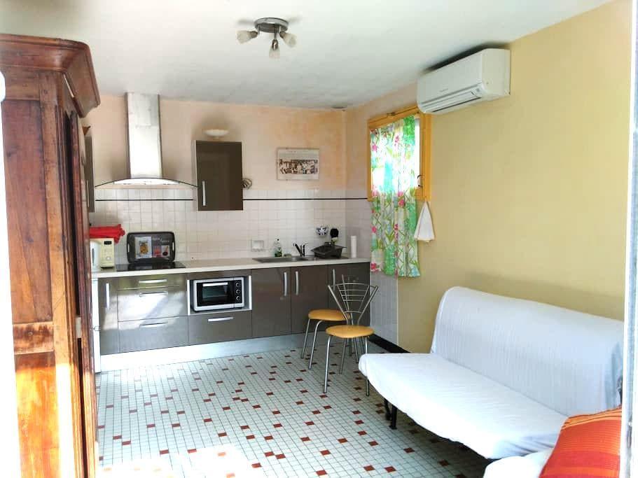 petite maison dans un jardin - Sanguinet - Casa