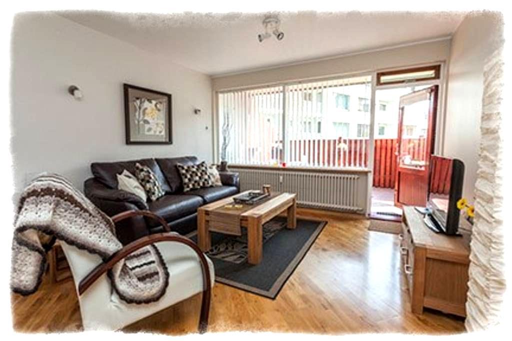 GentleSpace Apts - Túngata, 2 twin beds & sofa-bed - Ísafjörður - Wohnung