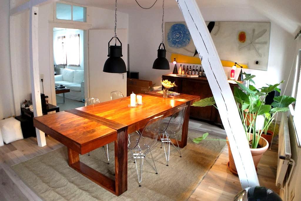 Modern eingerichtete Altbau-Wohnung zentral in HD - Heidelberg - Apartemen