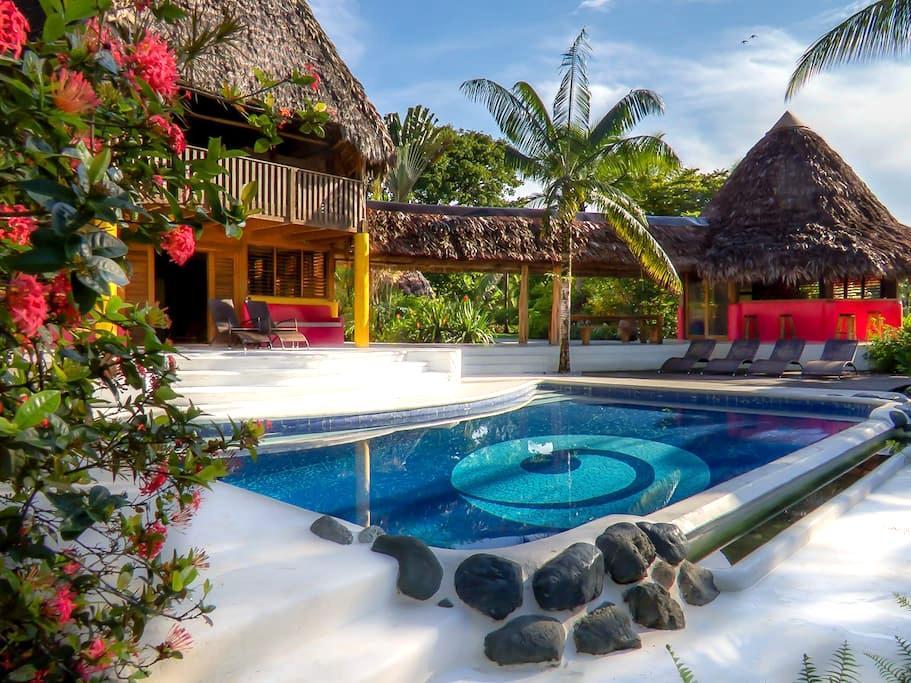 Osa Beach House w/ Pool - Puerto Jiménez - Hus
