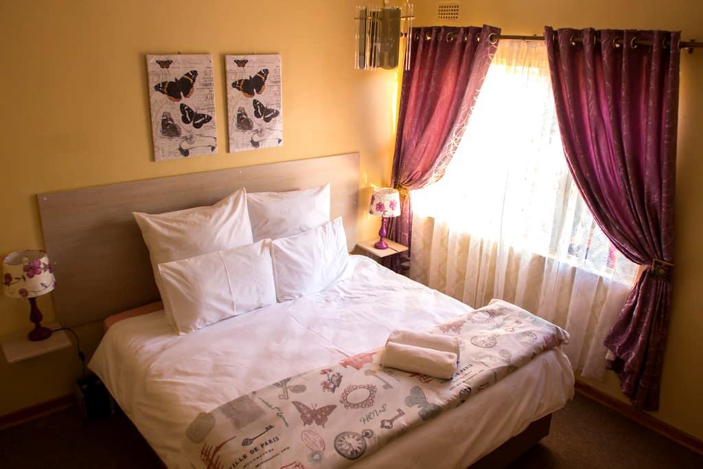 Lolo's 2Bed Apartment(15min to CBD) - Harare - Leilighet