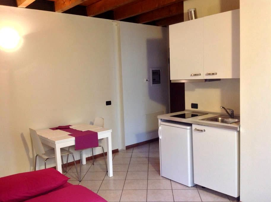 Olmo , 1 bedroom apartment, downtown, wifi - Brescia - Apartemen