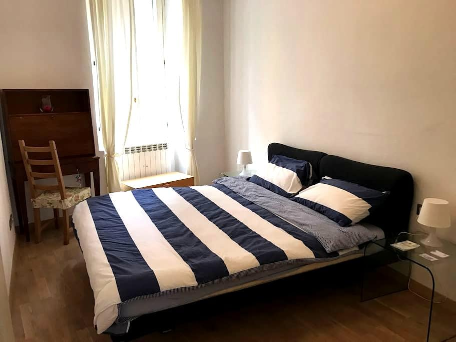 Double room in city center (privat bath+breakfast) - Bergamo - Daire