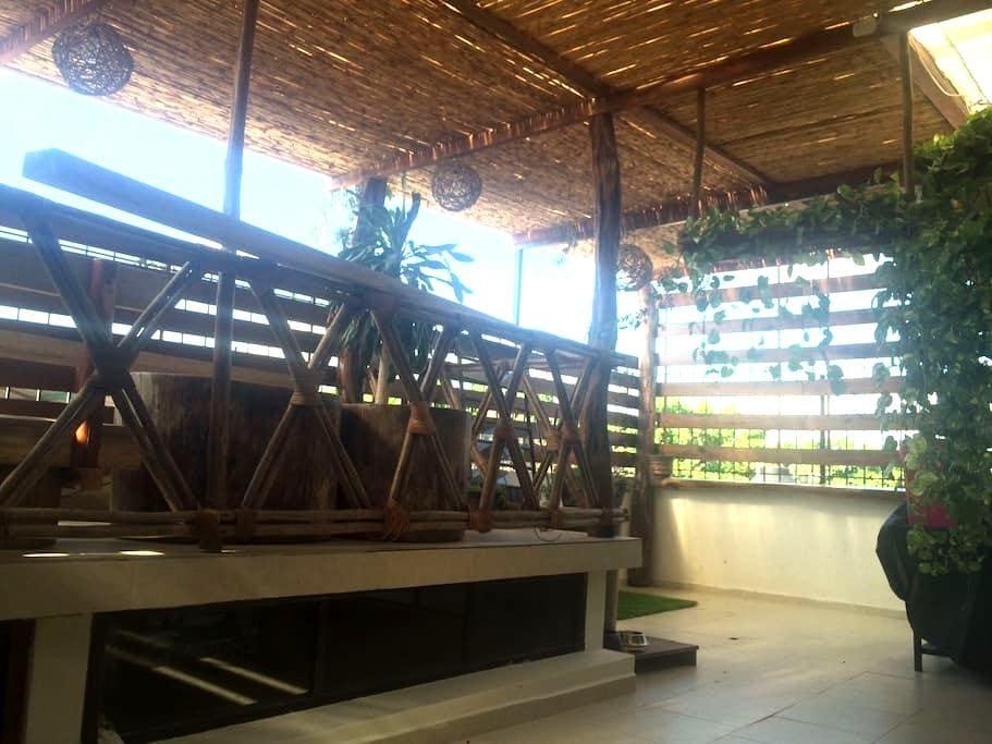 Room with roof garden near Altabrisa mall - Villahermosa - Leilighet