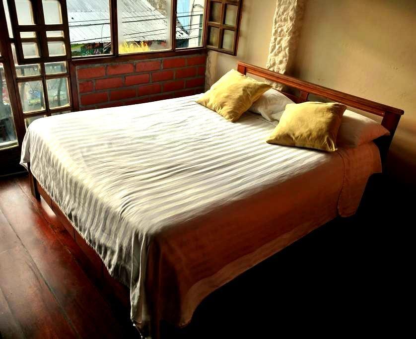 Habitación Matrimonial con Vista - Baños de Agua Santa - Bed & Breakfast