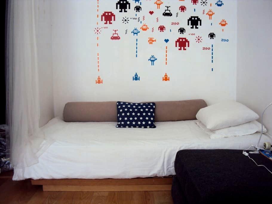 Single bedroom in artist loft - Porto - Loft