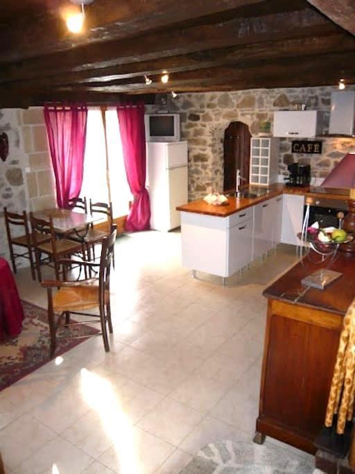 Complete apt in the countryside - Saint-Hilaire-les-Places - Huis
