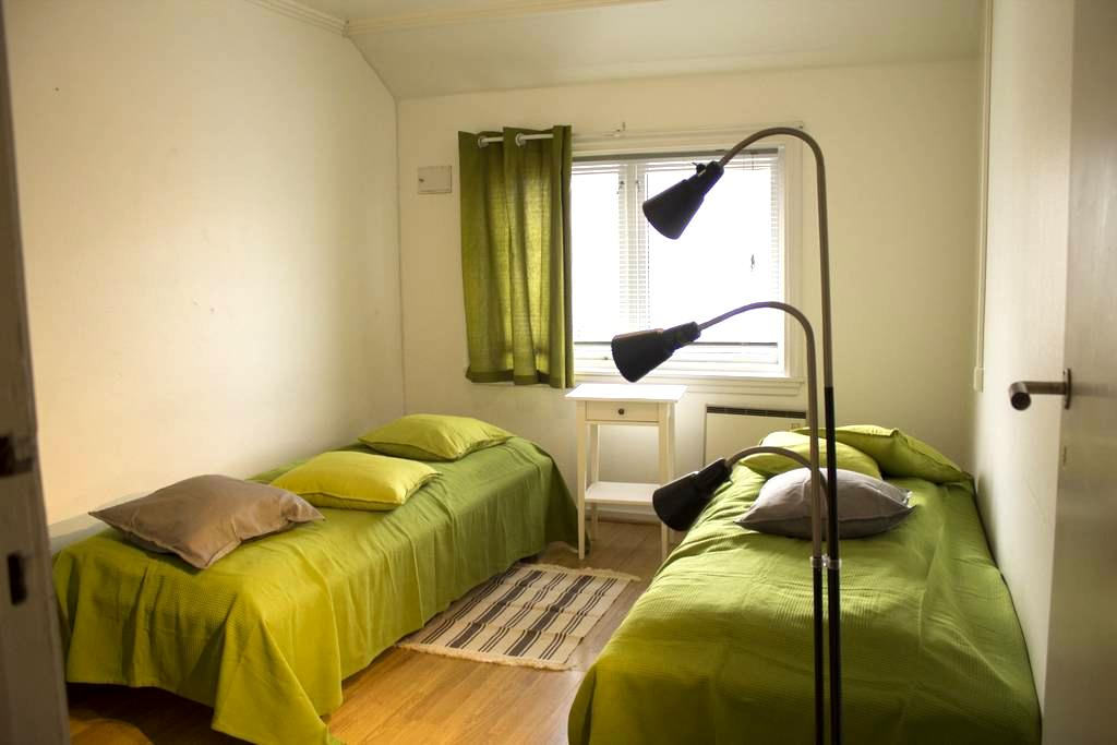 The Panorama room with two/three beds - Bergen - Townhouse