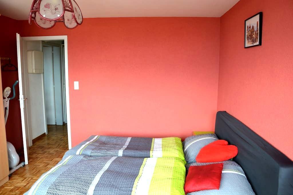 Belle chambre à Neuchâtel proche de la Gare - Neuchâtel - Apartment