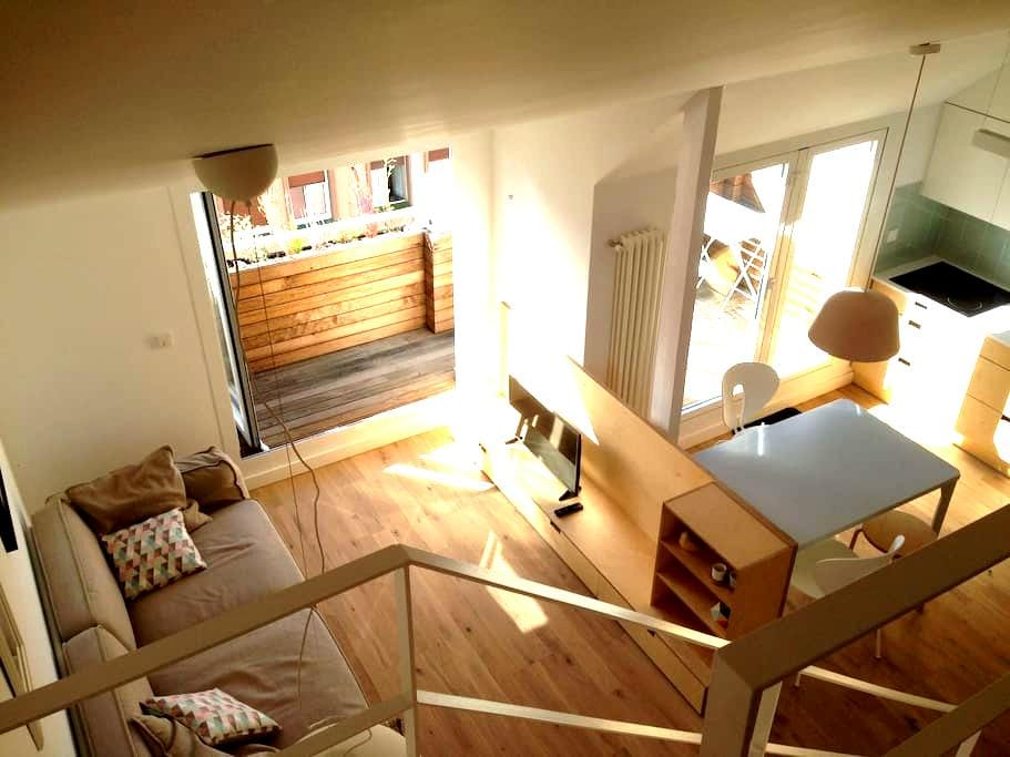 Cozy centric home, with amazing terrace!!! - Bilbao