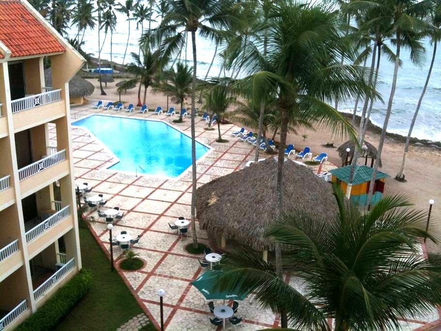 Apartment in front of the sea Juan Dolio beach, RD - Juan Dolio