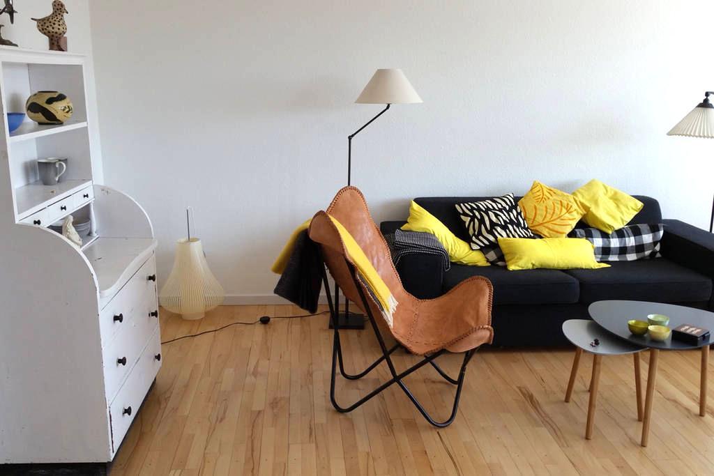 Centralt beliggende rummelig lejlighed - Frederikssund - Leilighet