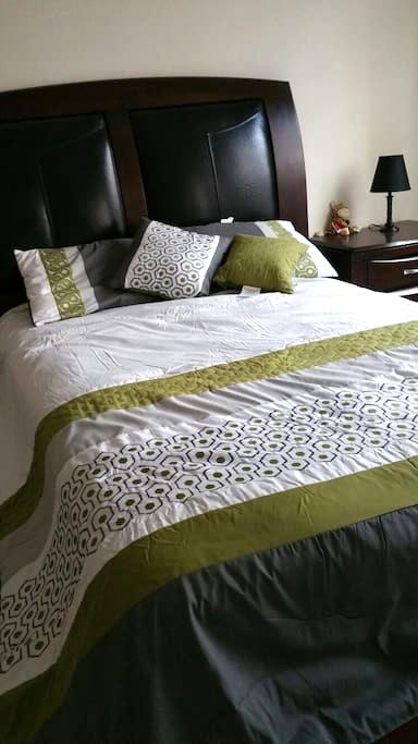 Sweet, comfy, private room - Carrollton - Apartment
