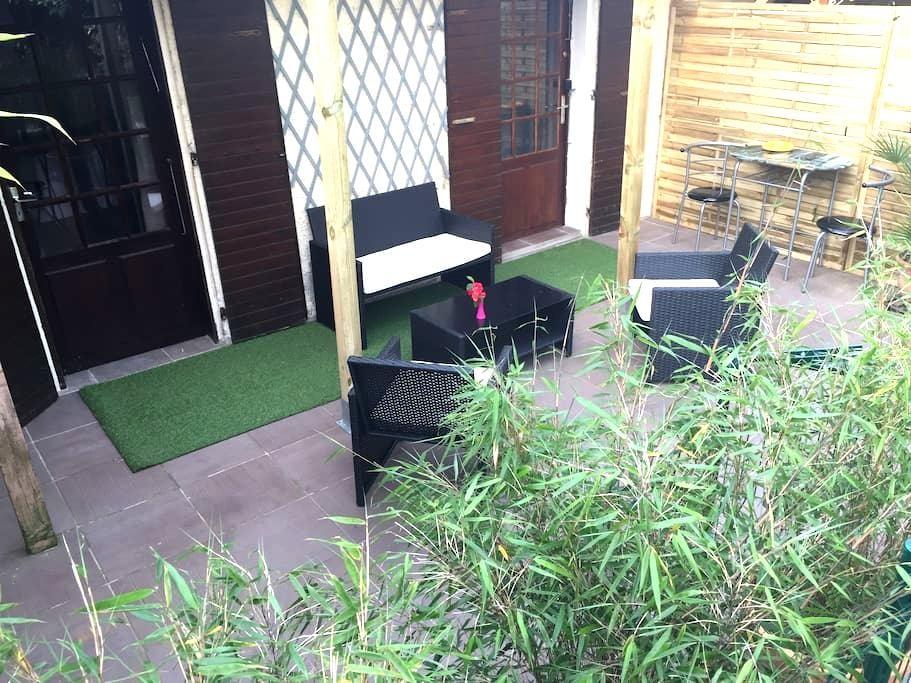 Studio sur terrasse - Toulouse - Apartamento