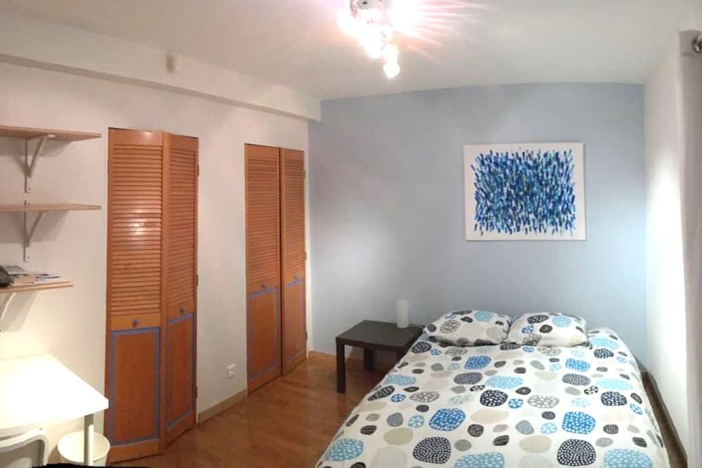 Chambre, SDB et terrasse privative -  18 m2 - ESC - Saint-Grégoire - House