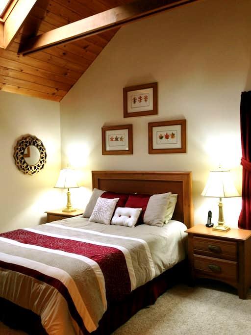 Private Queen Suite w/Kitchenette - Bethlehem - Huis