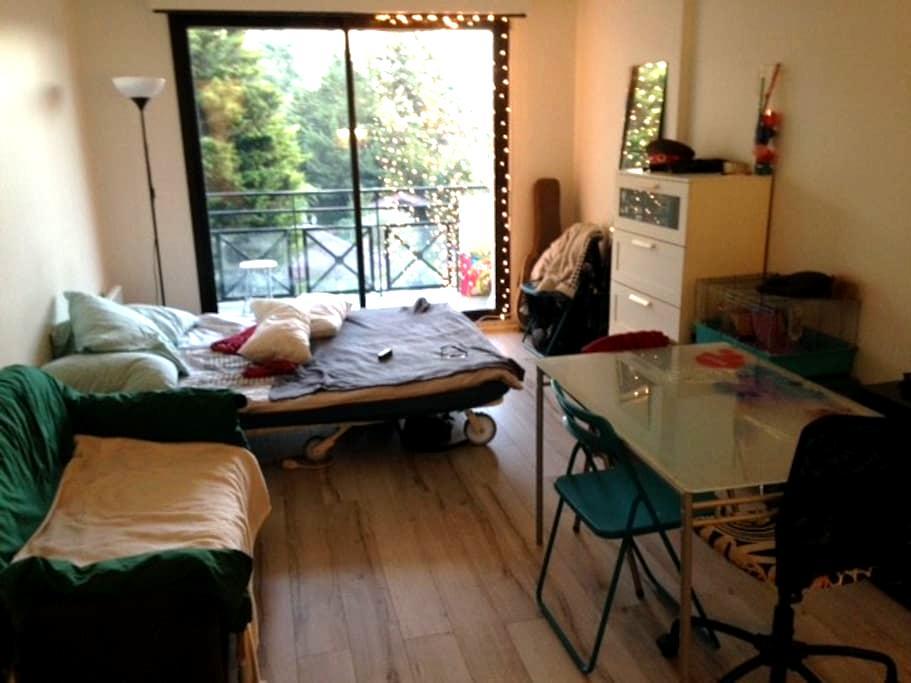 Studio proche Paris, parking privé - Fontenay-aux-Roses - Apartamento