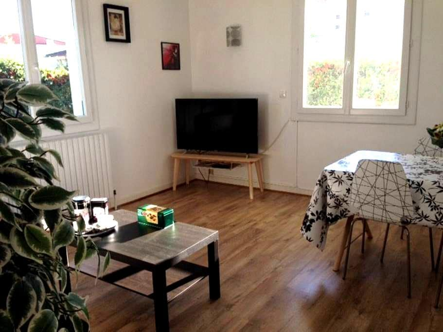 Grounded Floor with garden, 1 room 65m² - Tournefeuille