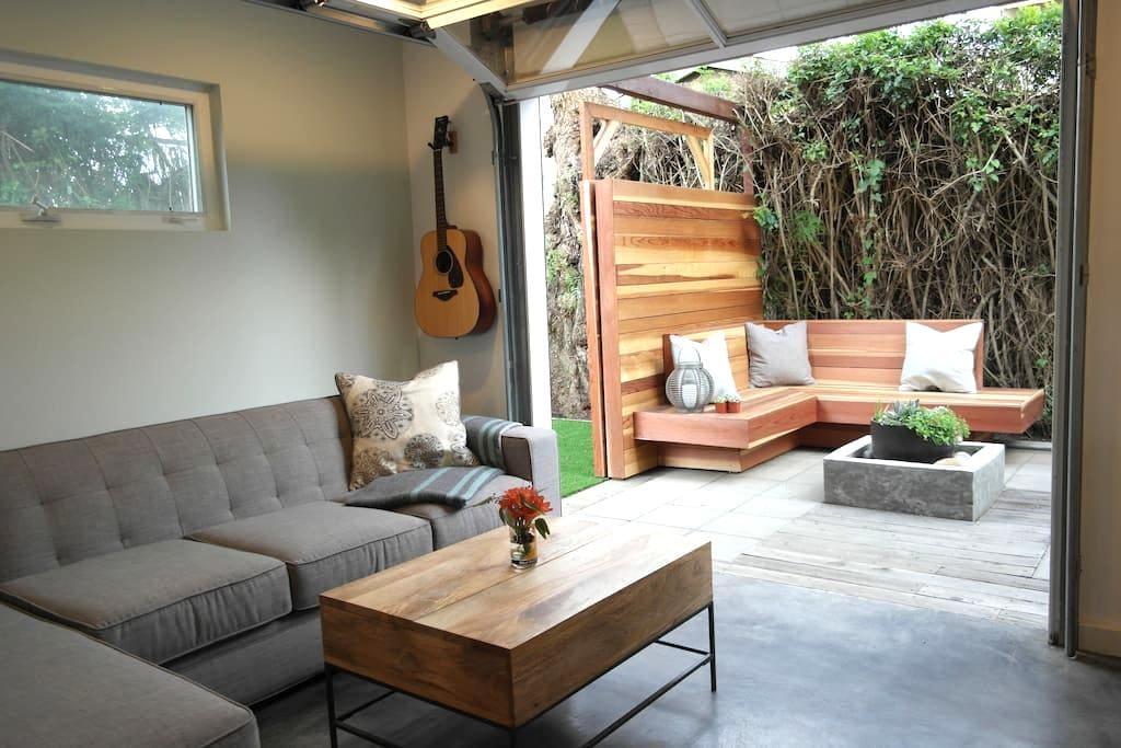 In/Outdoor Sanctuary in Ocean Beach - San Diego - Huis