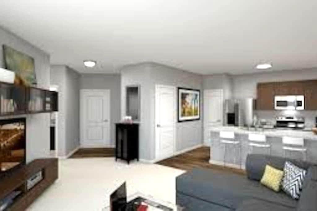 Brand New! Furnished Upscale Apartment! - Worthington