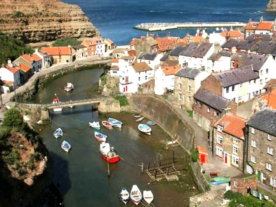 Charming rope maker's cottage - sleeps 6 plus baby - Staithes - Rumah