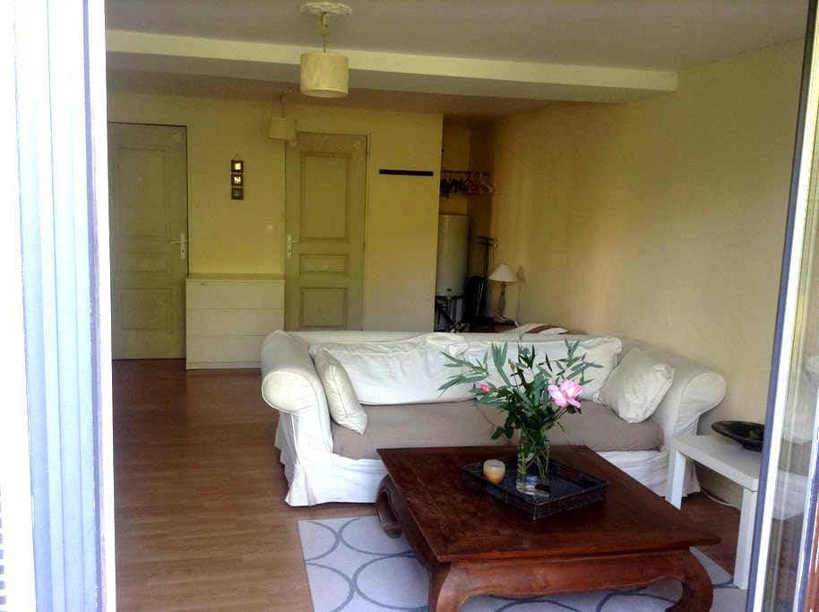 Maisonnette studio independante dans proprieté - Bourdonné - Apartment