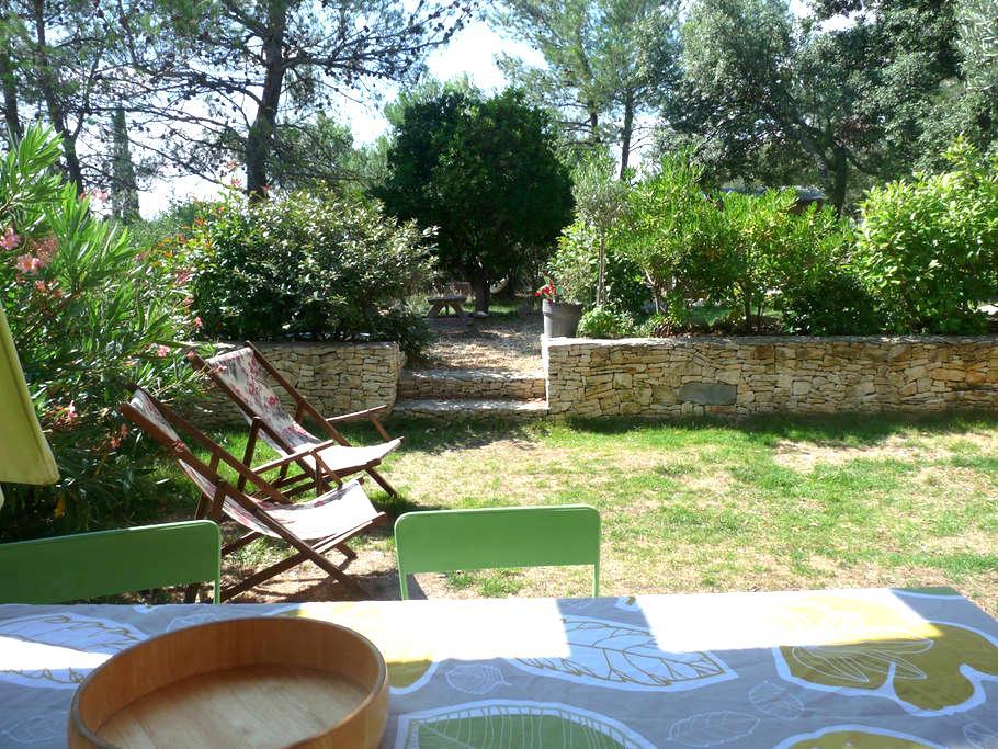 Maison et piscine en garrigue Nimes - Nîmes