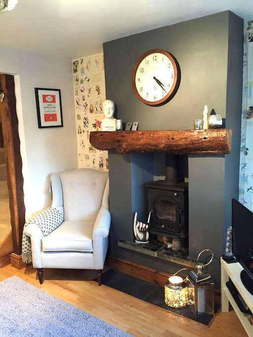 A charming cottage private room - Fairfield - Hus