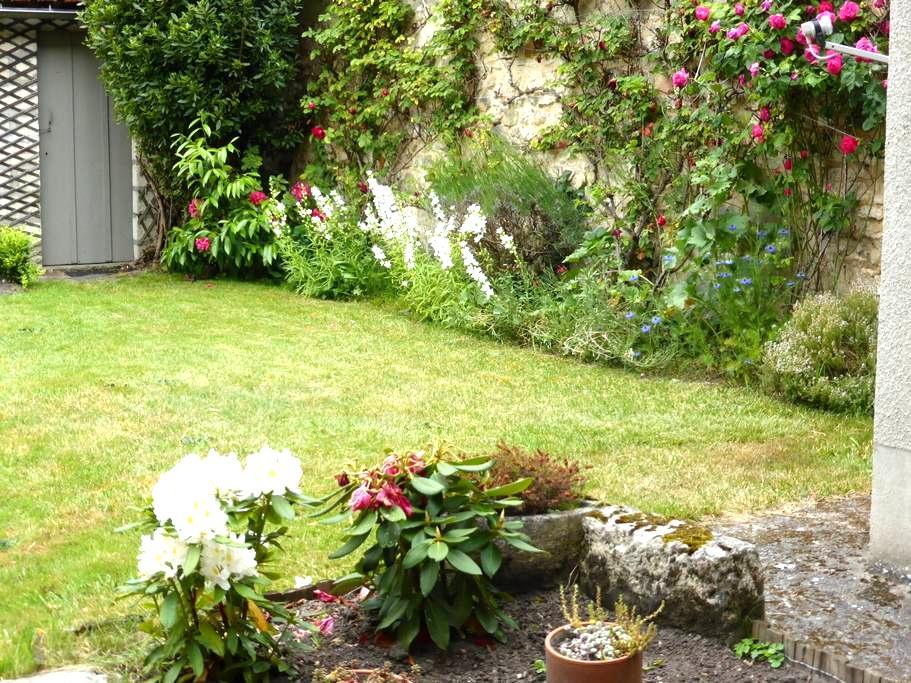Appartement 2 pièces au calme et en rez de jardin - Fontainebleau - Byt